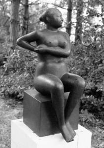 Leunende vrouw 190, brons, 104 x 45 x 58 cm Brussel, K.M.S.K.