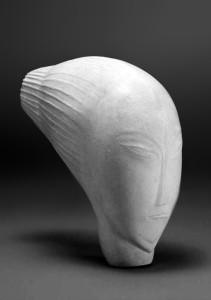 Perle Fine 1925, wit marmer,  22,5 x 11 x 22,5 cm Caroline & Maurice Verbaet Collection, Antwerpen